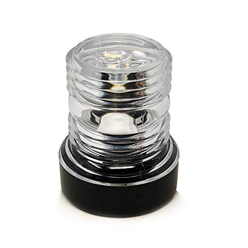 Five Oceans Marine Boat All Round Anchor 360 Degree LED Daylight White Navigation Light, 12V - Led Anchor Light