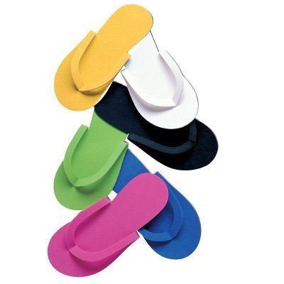 Pedi-Hausschuhe, verschiedene Farben, 12 Stück 12 Stück Nailycious Ltd