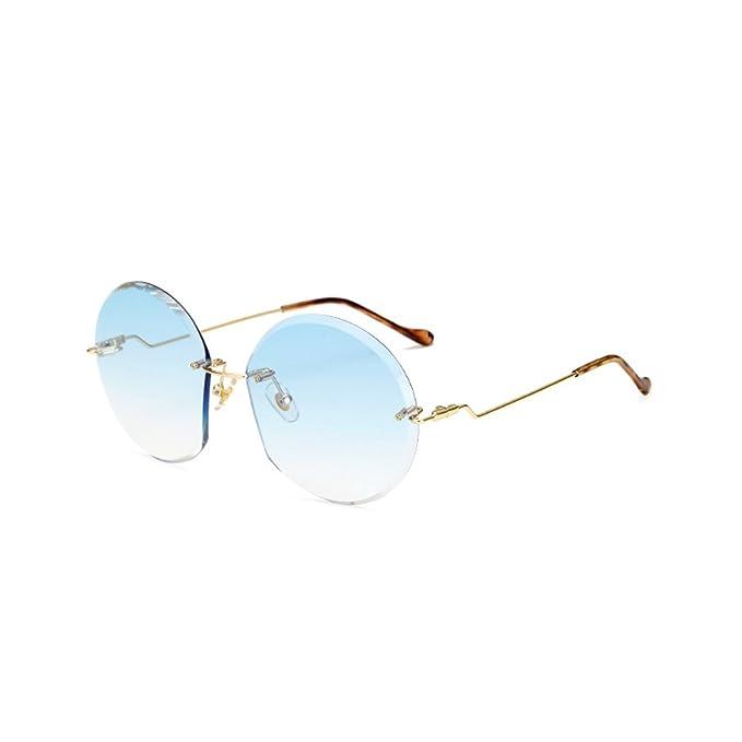 Amazon.com: Freedi moda sin montura anteojos de sol para ...