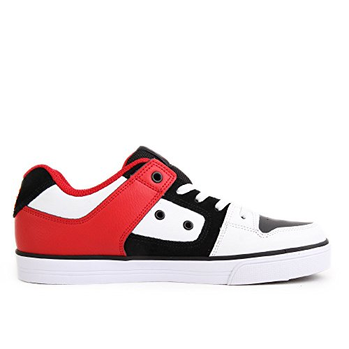 DC Pure Elastic Youth White Black Red 37