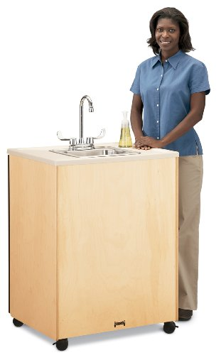 Birch Clean Hands Helper W/Stainless Steel Sink - 38