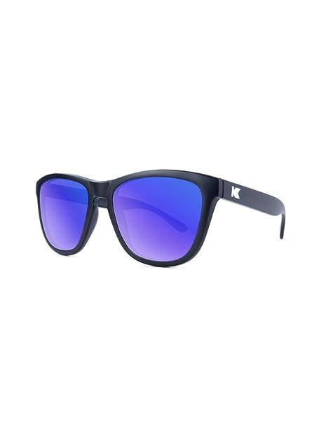 Knockaround Gafas de sol no polarizadas de las primas Matte Black/Moonshine