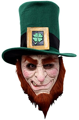Scary Leprechaun Costumes - Ghoulish Masks Irish Goblin Adult Mask