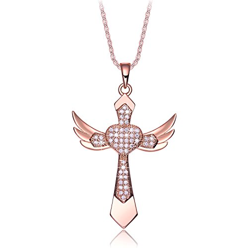 Valentines Day Gifts for Women NEEMODA Cross Necklace for