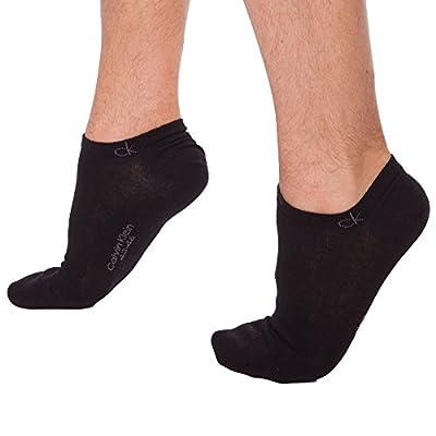 Calvin Klein Men's 2 Pack Casual Sneaker Socks Flat Knit Liner