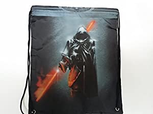 Star Wars Darth Vader with Lightsaber Inspired Drawstring Bags/Backpacks