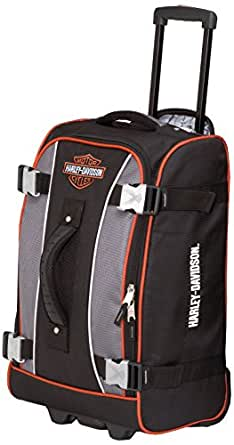 Harley Davidson 25 Inch Hybrid Luggage, Gray/Black, One Size