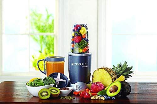 NutriBullet 8-Piece High-Speed Blender/Mixer System, Gray