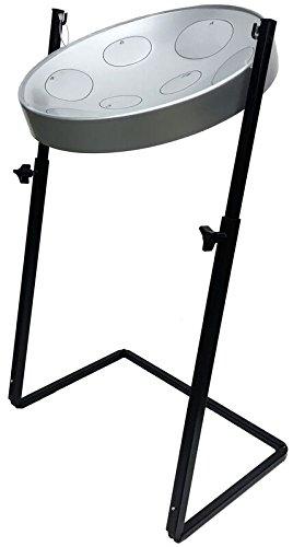 Panyard Jumbie Jam W1163 Steel Drum Z-Stand Silver F Diatonic