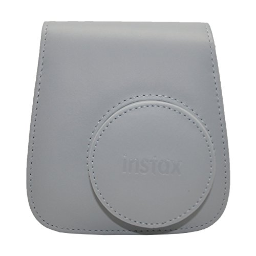 Fujifilm Instax Mini 9 Groovy Camera Case - Smokey (White Camera Bag)