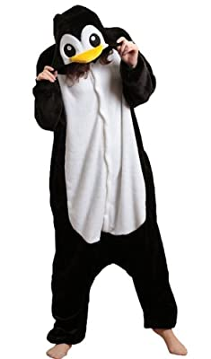 iNewbetter Costume Cosplay Homewear Lounge Wear Kigurumi Onesie Pajamas Penguin