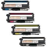 GLB Premium Quality Compatible Brother TN310 Toner Cartridges Set , TN310K Black,TN310C Cyan,TN310M Magenta,TN310Y Yellow