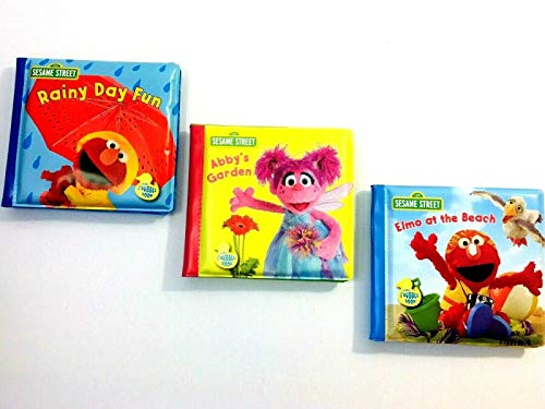 Sesame Street Set of Three Bath Books - Sports