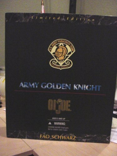 FAO Schwarz Limited Edition African American Army Golden Knight ()