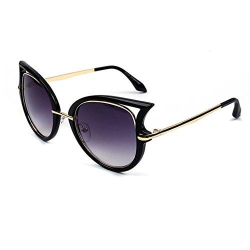 Aoligei Européens et américains de lunettes de soleil personnalité de marée lunettes de soleil femme européenne et américaine rue battant fashion JcUvQv0A