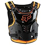 Fox Racing Proframe LC Youth Boys Roost Deflector MotoX/Off-Road/Dirt Bike Motorcycle Body Armor - Orange / One Size