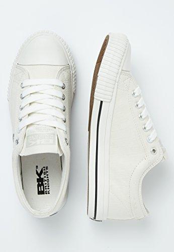 Donne Sneakers Master Knights Bassa Lo British Ecru ztXqn