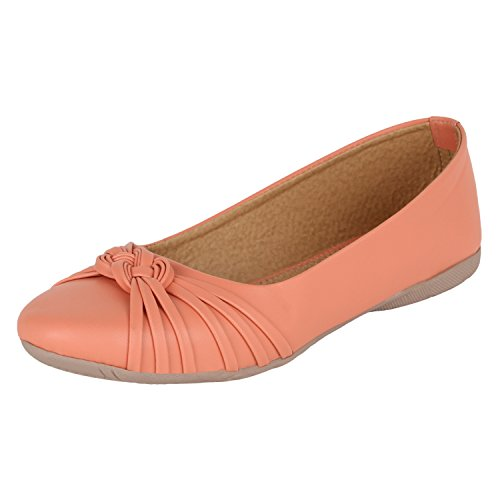 AUTHENTIC VOGUE Women #39;s Casual Flat Ballerinas/Belly Shoes