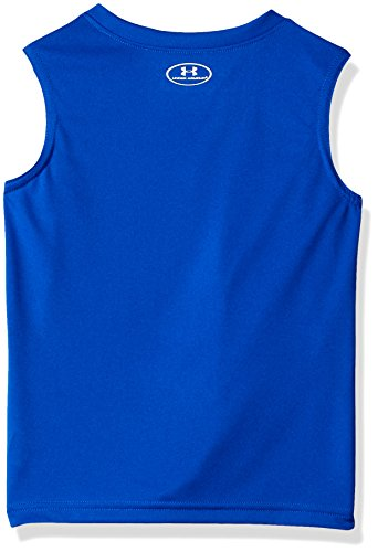Under Armour Little Boys' UA Muscle Tank and Short Set, Ultra Blue, 4 by Under Armour (Image #2)