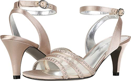 David Tate Women's Giada Champagne 6.5 D US