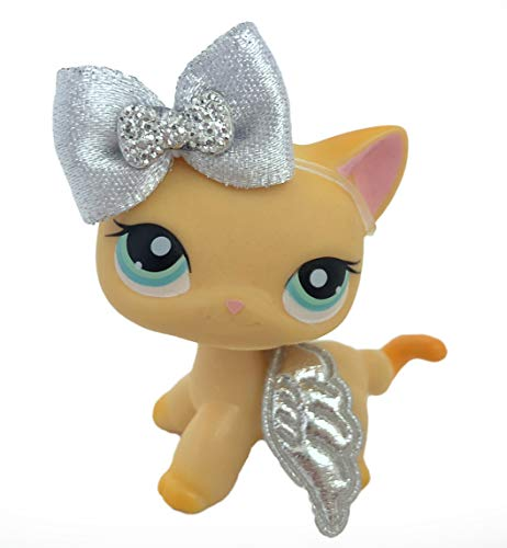 Littlest Angel Doll (Littlest Pet Shop Accessories LPS Lot Bow and Angel Wings CAT NOT Included)