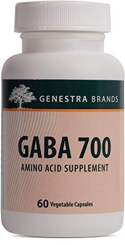 Genestra Brands - GABA 700 - Gamma-Aminobutyric Acid Formulation - 60 Capsules by Genestra Brands