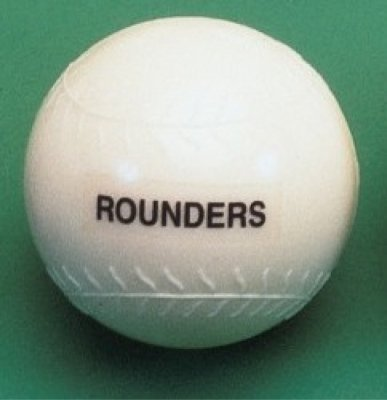 Central Outdoor Garden Games Moulded Plastic Baseball Rounders Training Ball by Central
