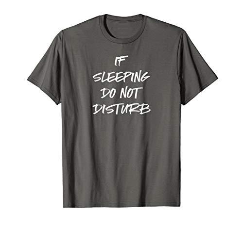 Funny Pajama Shirt Teen Boys Dad Pajamas PJ Do Not Disturb