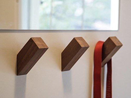 (WALLNUTS® | Modern Wall Hooks Handmade from Beautiful Hardwoods)