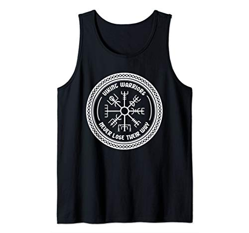 Viking Warrior Shirts - Never Lose Their Way Tank Top