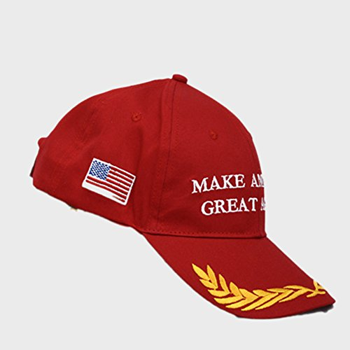 Dutch Brook Make America Great Again Donald Trump 2016 Campaign Cap Hat (Red)