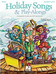 Hal Leonard Holiday Songs & Play-Alongs Song Collection For Voice and Orff
