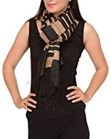 Skirts N Scarves Women's Semi Tussar Stole/Scarf