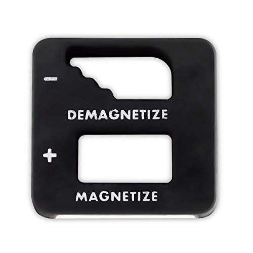 Katzco Black Precision Magnetizer and Demagnetizer