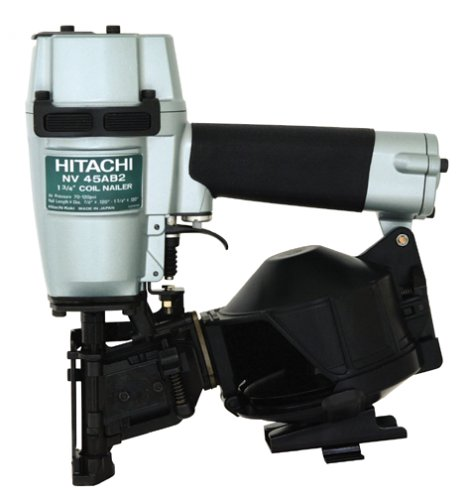 Hitachi NV45AB2S 7/8-Inch to 1-3/4-Inch Coil Roofing Nailer (Discontinued by Manufacturer)