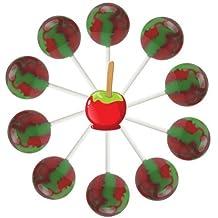 10ct. Candy Apple Lollipop Bag (Candy Apple)