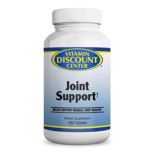 Vitamin Discount Center Joint Suport Supplement with MSM, 180 Tablets