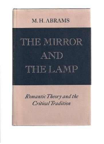 The Mirror and The Lamp. Romantic Theory and the Critical Tradition.