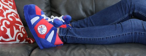 Happy Philadelphia 76ers Feet Comfy Feet NBA Slippers and Mens Sneaker and OFFICIALLY LICENSED Womens fS5AFq