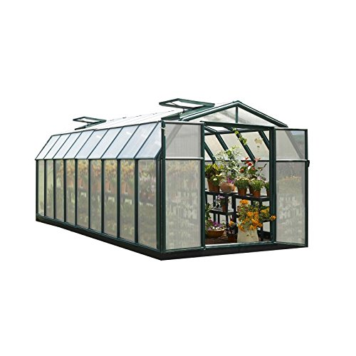 Rion Hobby Gardener 2 Twin Wall Greenhouse, 8' x 20'