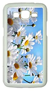 case thindaisies summer PC White case/cover for Samsung Galaxy Grand 2/7106
