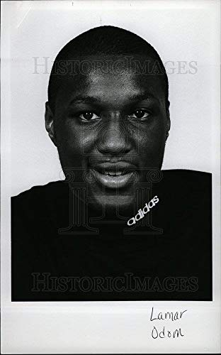 Historic Images - Vintage Press Photo Lamar Odom LA Lakers NBA basketball - dfpd29315
