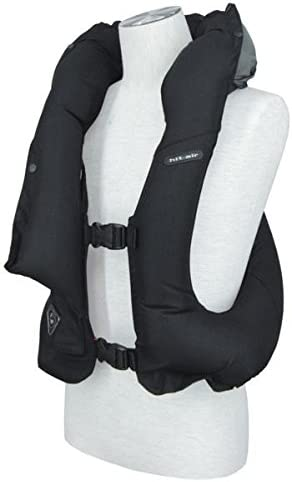 Air Vest for Horse Riding - Light weight airbag black