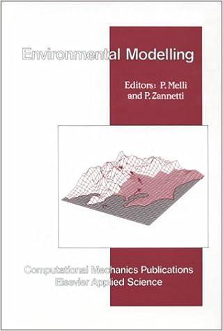 Book Environmental Modelling (Computational Engineering)