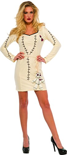 Rubie's Costume Co Women's Voodoo Magic Costume, Off-White, Small