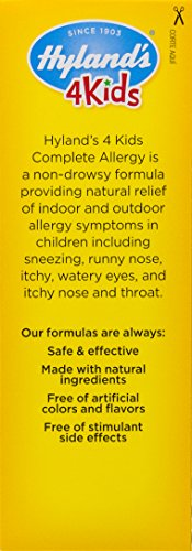 Kids Allergy Medicine by Hyland's 4Kids Non Drowsy Childrens