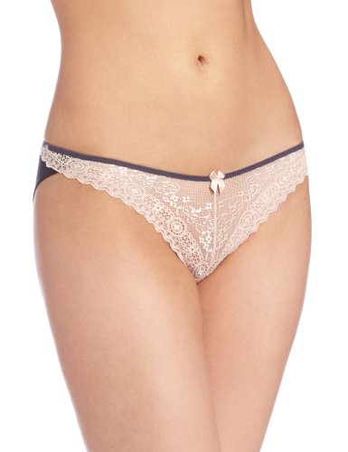 b.tempt'd by Wacoal Women's Wrap Star Bikini Panty, Iron, Large