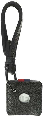 Herschel Supply Co. Key Chain + Tile, black, One Size