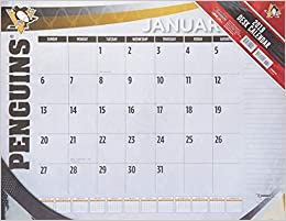 Nfr Calendar.Pittsburgh Penguins 2019 Calendar Lang Holdings Inc