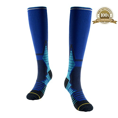 Gmoka 15-20 mmhg Compression Socks for Men Women best Stockings for Running, Medical, Athletic, Travel, Pregnancy